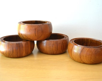 Digsmed Staved Teak Salad Bowls 111