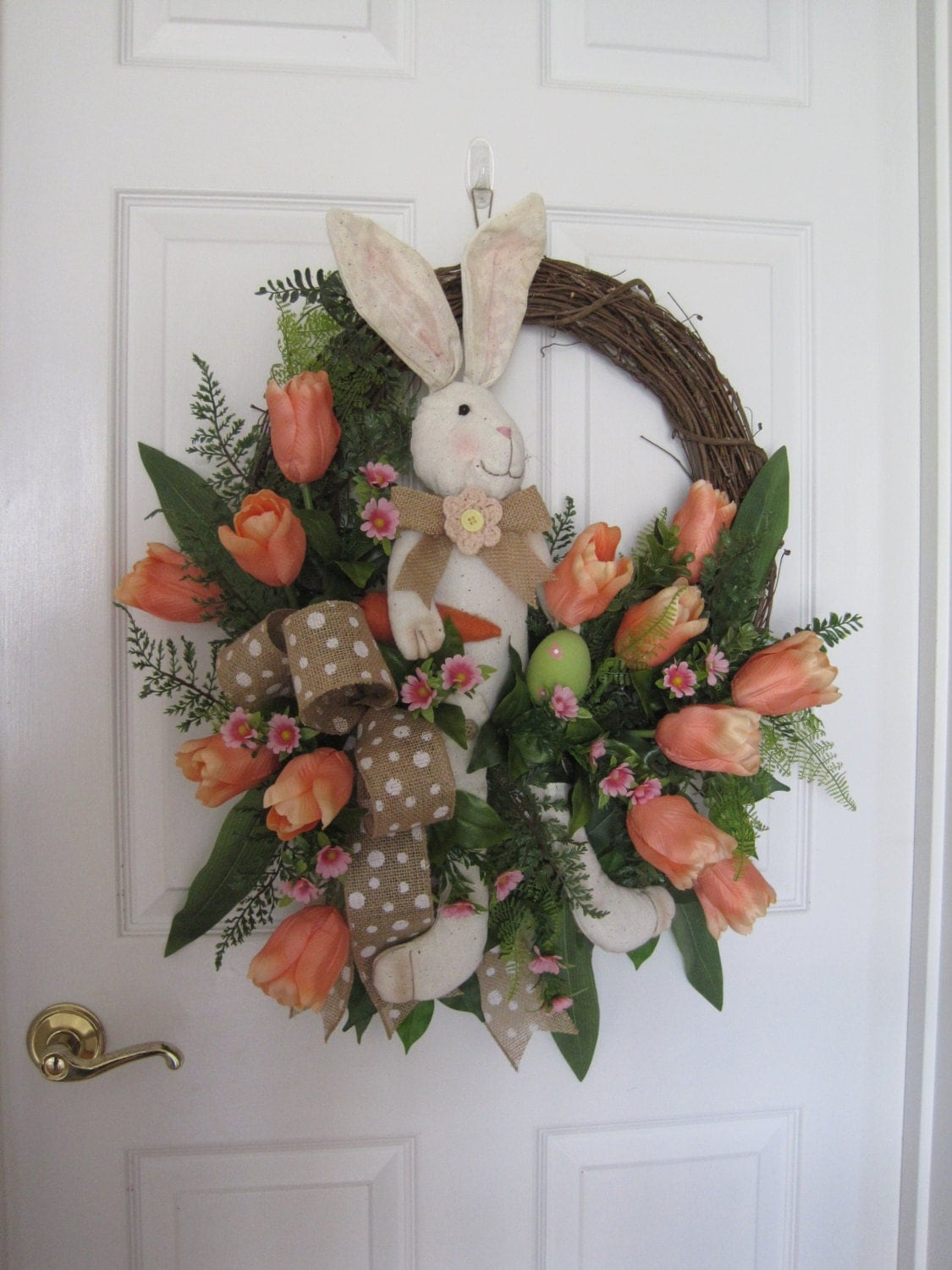 Easter Wreath Free Shipping Spring Wreath Front Door