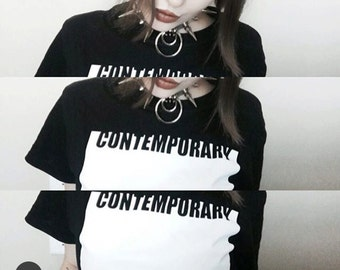 Rad Contemporary Art Crop Top For All Artist