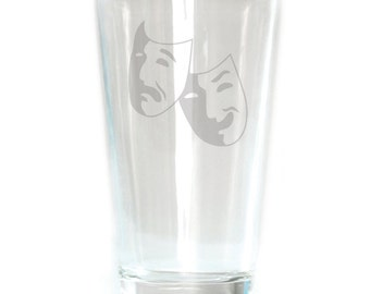 Pub Glass - 16oz - 6265 Theater Mask