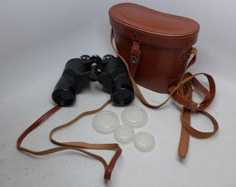 Vintage Atcolite 7 X 35 Binoculars - Japanese Binoculars - Coated Optics Binoculars