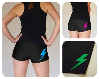 Lightning Bolt Roller Derby Shorts - Pre-Order