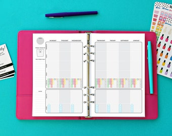 Half Page 2,100-2,300 CaloriesFitness Journal by 505 Design, Inc
