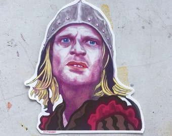 Klaus Kinski Waterproof Sticker