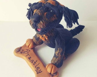 Wedding Dog Cake Topper ANY breed Dog Birthday Gift Dog Ornament Dog Lover Pet Lover Bride and Groom Wedding Cake Memorial Puppy Love