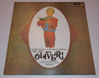 Oliver - The Original Motion Picture Soundtrack - Oliver Twist - LP Vinyl Record Album - Classic Musical