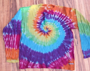 Tie Dye Paper, Denim and Cloth Thermal, upcycled