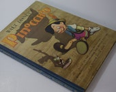 Vintage Copy of Walt Disney's Version of Pinocchio with Color Illustrations from the Motion Picture - Hardcover - A Random House Book