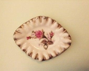 Vintage Trinket Dish, Diamond Shaped