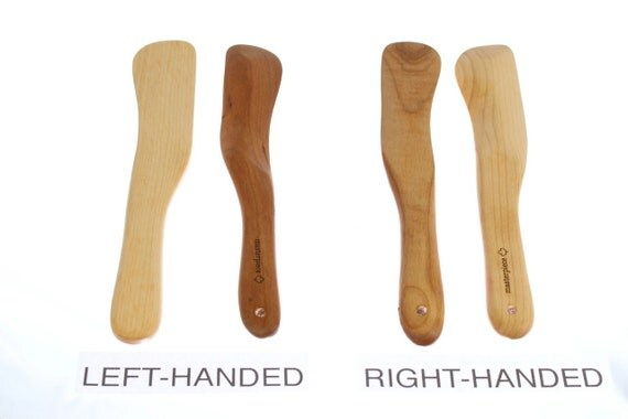 All Purpose Kitchen Utensil, Food Stick, Stirrer, Spurtle, Spirtle, Solid Cherry or Maple Wood. Paul Szewc, Masterpiece Gallery