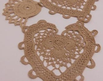 Antique Vintage Crochet and Tatting Pieces