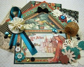 Graphic 45 Enchanted Forest Inspiration Kit, Embellishment Kit, Card-Making Kit for Scrapbook Layouts Cards Mini Albums and Paper crafts 1