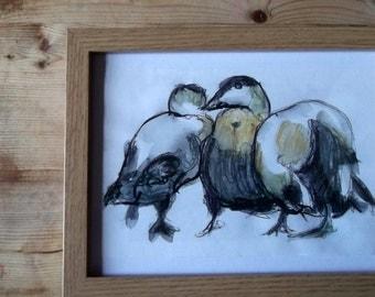 Three Amigos - Original Watercolour