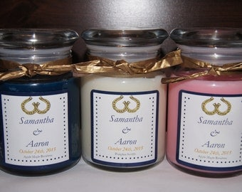 50- 5 oz Soy Apothecary Candle Favors