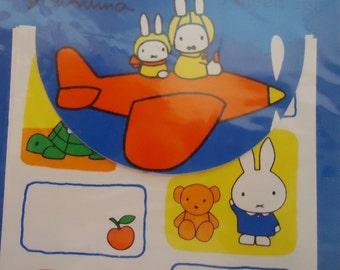 Miffy Kawaii 1970 Stickers.Kutsuwa