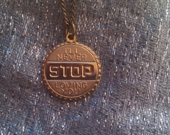 I'll Never Stop Loving You Necklace