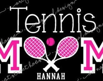 ORIGINAL DESIGN Tennis Mom Shirt, Tennis tshirt, Tennis Grandma, Tennis Mom T-Shirt, Personalized Shirt, Tennis Monogram