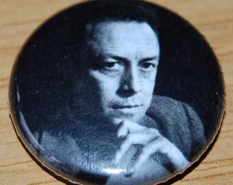 Albert Camus Button Badge 25mm / 1 inch The Outsider/L'etranger