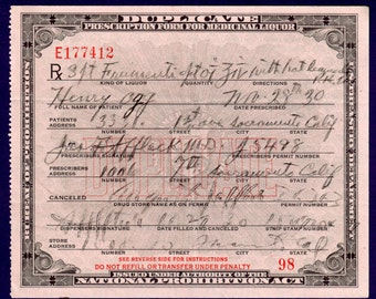 Henry Ogg Hot Lemonade Whiskey Prohibition Prescription Doctor Pharmacy Bar Sacramento CA California Mad Men Bartender Speakeasy 11/28 1930