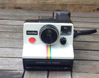 Vintage Polaroid One Step Camera (Special Edition)