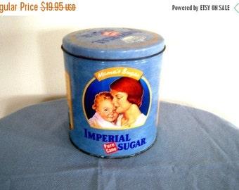 Vintage Imperial Sugar Tin Mama's Sugar