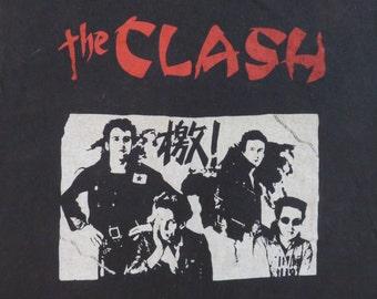 Original THE CLASH vintage 1980s T SHIRT