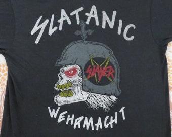 SLAYER Original vintage 1985 tour T SHIRT