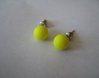 Yellow Ball Posts