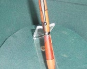 Handcrafted wooden twist type pen/stylus, Hawaiian Naturals #3
