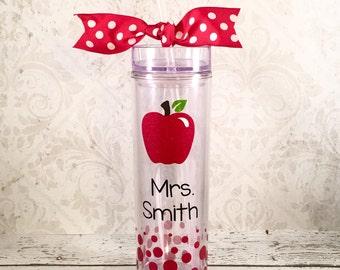 Teacher Tumbler, Teacher Gift, Teacher Appreciation, Personalized Teacher Cup, Teacher Cup, Personalized Tumbler Teacher