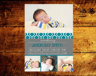 baby announcements, baby boy announcements, baby girl announcements, baby announcement cards, birth announcement cards