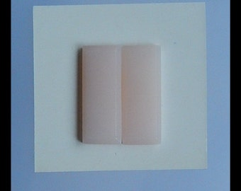 Pink Opal Cabochon Pair,23x9x3mm,2.79g