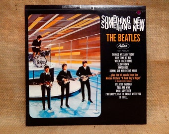 The Beatles - Something New - 1978 Vintage Vinyl Record Album
