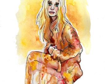 Mary Kate Olsen Portrait