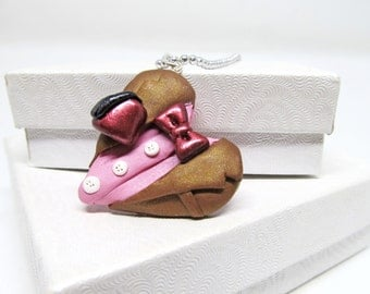 Eleventh Doctor Heart Pendant