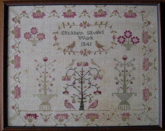 Ann Sims Reproduction Sampler