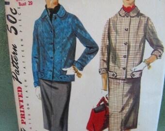 Simplicity 4871, size 11 suit pattern