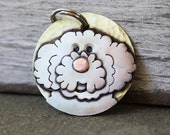 Doodle Dog Tag - Large Dog ID Tag -Personalized Goldendoodle or Labradoodle dog tag or key chain