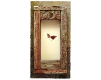 The Lord Giveth |i| LeafWork Framed in Reclaimed Wood