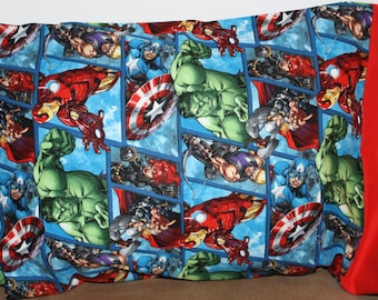 Marvel Pillowcase  Toddlers/Travel