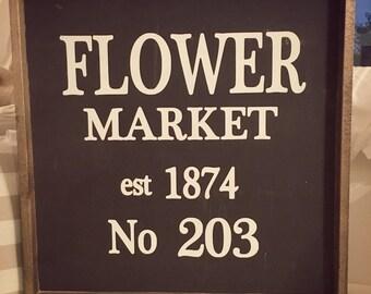 Flower Market sogn