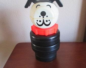 Vintage Large Fisher Price Dog - Stacking Toy
