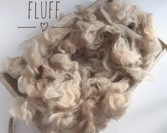 Baby fluff, basket layering, basket liner, basket filler, newborn photography