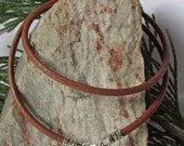 18 inch Brown Leather Cord, 3mm Wide, Sterling Silver Lobster Clasp, Mens Necklace, Mens Leather Cord, Leather Cord Necklace