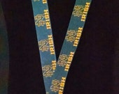 Norte Dame Fighting Irish Inspired Lanyard With Swivel Lobster Clasp & Safety Breakaway FREE SHIPPING !!