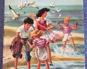 The Bobbsey Twins at the Seashore Laura Lee Hope 1954 edition