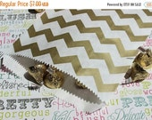 XOXO SALE 50 Gold Chevron Candy Bags, Gold Wedding Candy Bags, Gold Popcorn Bags, Gold Favor Bags, Gold Gift Bags, Gold Paper Goods, Gold Ca