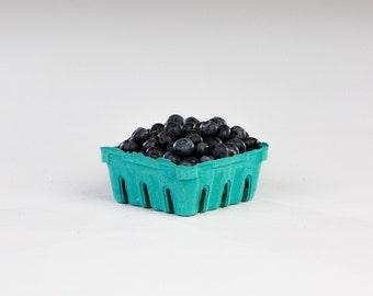 24 qty. 1/2 Pint Berry Baskets, Berry Till, Eco Friendly Paper Pulp Basket, Wedding Favor Basket, Farm Theme Party Favor, Spring Basket