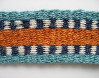 hand-woven wool  F mandolin strap