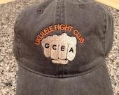 Ukulele Fight Club Embroidered Hat